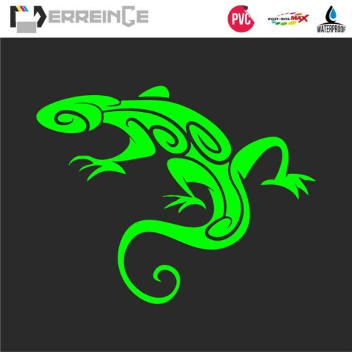 Sticker LIZARD GECKO Adhesive Wall Decal Laptop Mural Camper Animal Car Scooter
