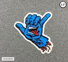 Santa Cruz Shaka Hand Skateboard Sticker 3.5in si