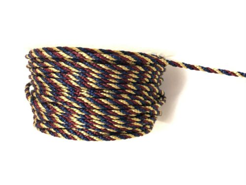 3mm Furniture 2//3 Tone Platted Braid Cord Rope Piping Crafting Trim By the Metre