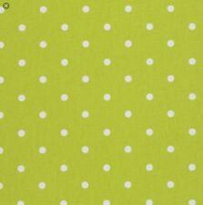 In Tela Cerata Tessuto, rivestito in PVC, Verde Lime Spot Design, al metro, superba qualità