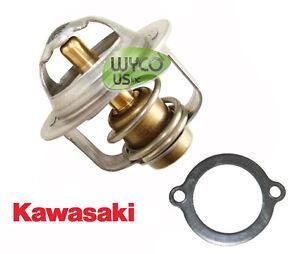oem kawasaki, fd620d engines, thermostat w/ gasket, john deere 425