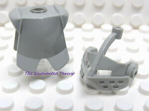 Lego Lot of 5 Minifigure Light Bluish Gray Visors