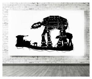 Star Wars AT-AT Walkers Wall Art Sticker/Decal