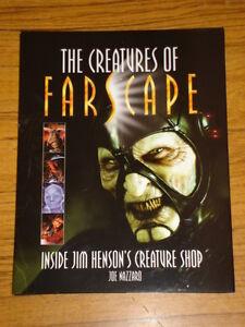 CREATURES-OF-FARSCAPE-INSIDE-JIM-HENSON-039-S-CREATURE-SHOP-HARDBACK-9781903111857