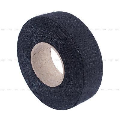 Black 25mm*15m Universal Flannel Anti Squeak Anti Rattle Self Adhesive Felt Tape