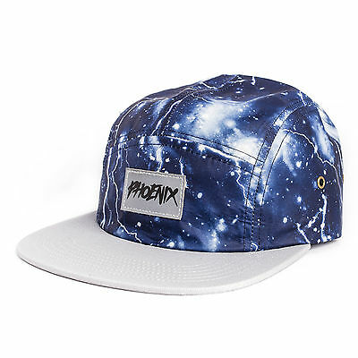 Phoenix Thunderbolt 5-Panel Cap - Hat Lightning Five Camper Storm blue Camp