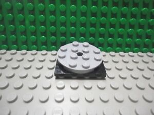 Black 4x4 Round Turntable Bricks ~ Lego ~ NEW ~ Castle 3 ~ Black