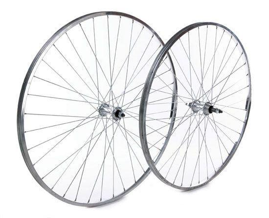 Tru-build Wheels RGR910 Rear Wheel - Silver, 27 x 1-1/4 Inch