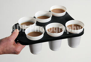 For 4 And 2 Pcs Paper Coffee Cup Holder Tray Buy Coffee