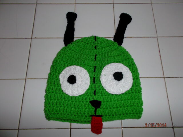 Character Crochet Gir Invader Zim Hat Ebay