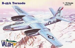 Valom 1/72 Model Kit 72120 North-American B-45A Tornado
