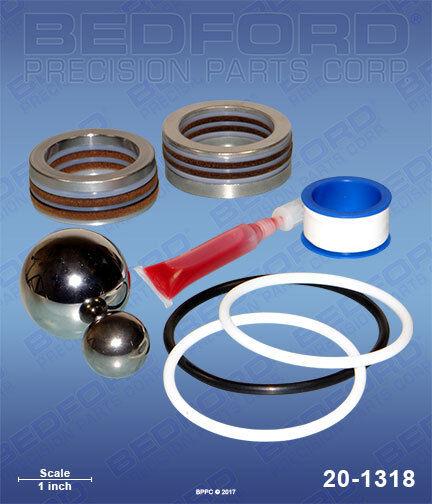 Aftermarket Titan Speeflo Repair Kit 185-050 185050