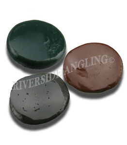 Tungsten-Rig-Putty-20g-Brown-Black-Green-Carp-Fishing-Weights-Terminal-Tackle