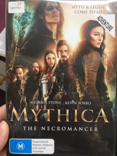 1 of 1 - Mythica - The Necromancer ex-rental region 4 DVD (2015 action movie)