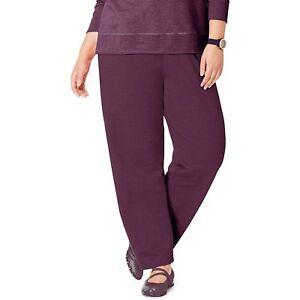 20444199659 Details about Just My Size Women s Plus-Size Petite Length Open Leg Fleece  Sweatpants