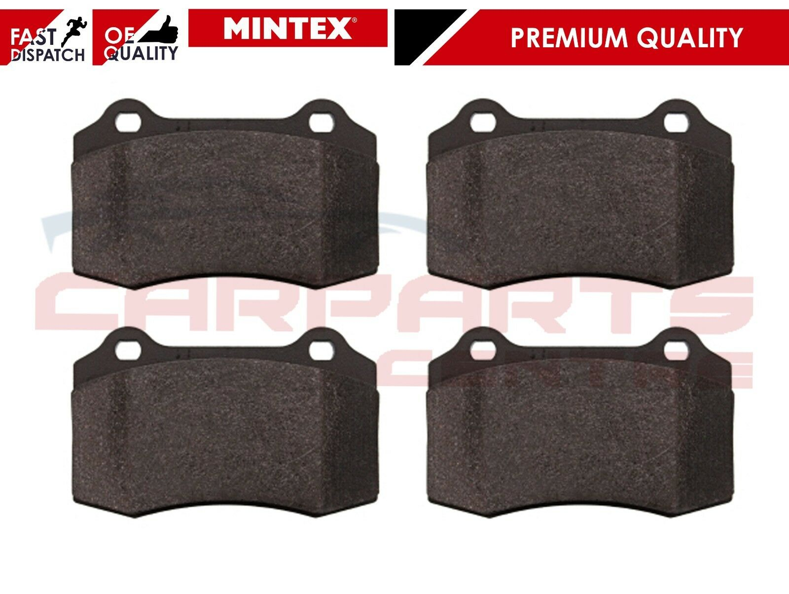 New Seat Leon 1M1 1.8 T Cupra R Genuine Mintex Rear Brake Pads Set