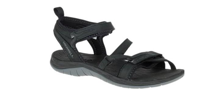 Merrell Siren Strap Q2 Black Comfort Sandal Women's sizes 5-11 NEW