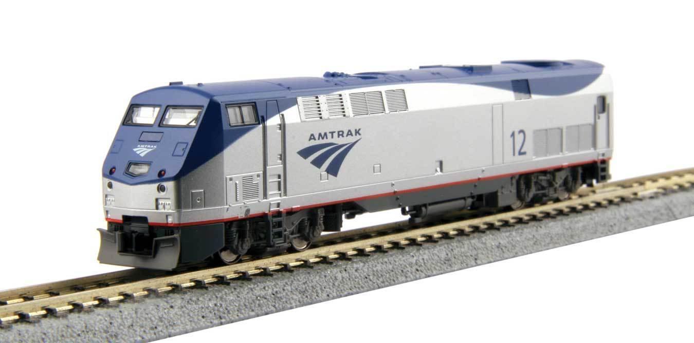 Escala N - Kato Locomotora Diesel Ge P42 Genesis Amtrak 176-6030 Neu
