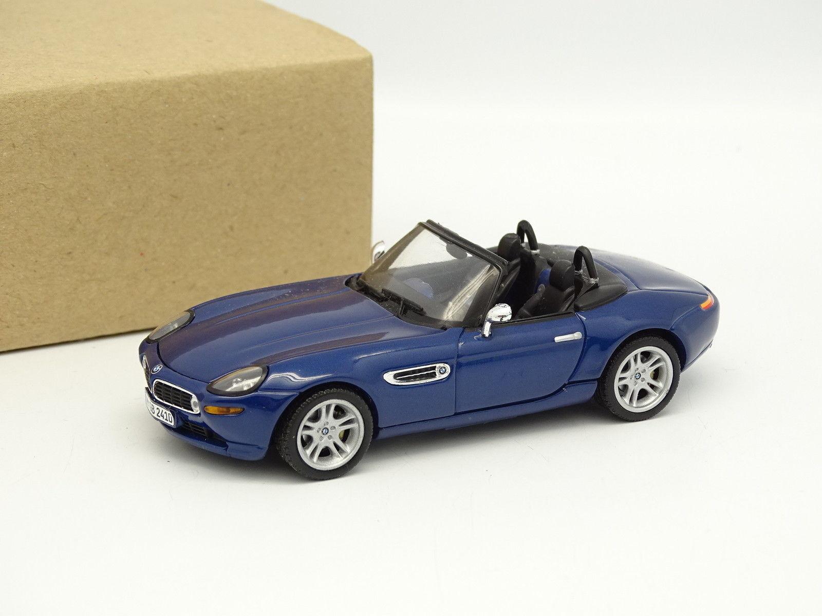 Minichamps SB 1 43 - BMW Z8 bluee