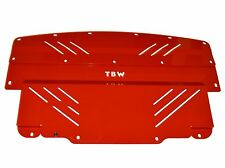 RED Aluminum Under Tray Splash Shield Cover Guard for Nissan 370Z & Infiniti G37