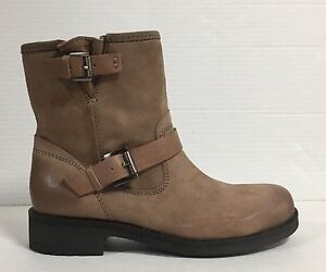 Details about Geox Women's Shoes Ankle Boot Suede Oiled Taupe Art. D4451E