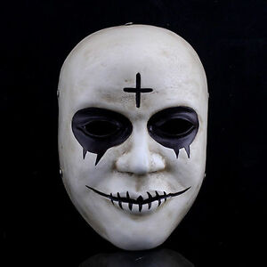 The purge 2 movie costume horror fancy dress mask adult cosplay image is loading the purge 2 movie costume horror fancy dress solutioingenieria Image collections