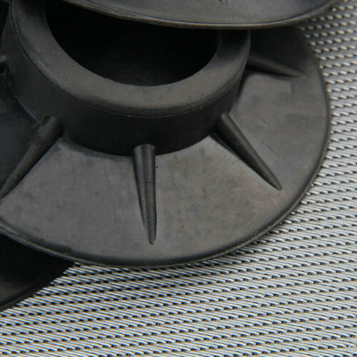Washing Machine Non Slip Anti Vibration Feet Rubber Protector Pad Mat Black New