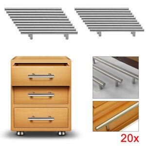 Outstanding Details About 20X Brushed Steel T Bar Handles Kitchen Cabinet Door Cupboard Drawer Bedroom Uk Download Free Architecture Designs Pendunizatbritishbridgeorg