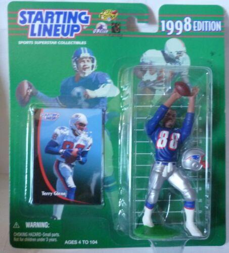 SLU New England Patriots Sports Figurine 1998  TERRY GLENN Starting Lineup