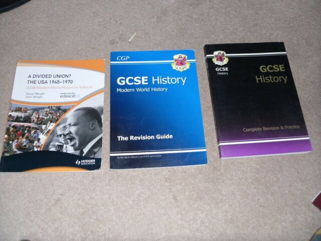 CGP GCSE Revision guides History, Modern History & Edexcel USA A Divided Union ?