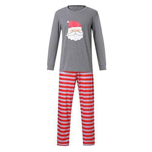 Family Matching Adult Kid Christmas Pyjamas Xmas Nightwear Pajamas Outfits Set