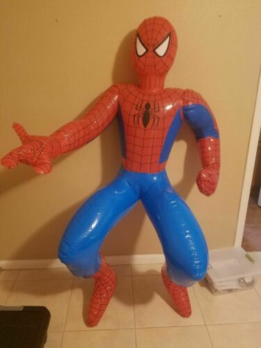 "72/"" Spiderman Blowup  New Sturdy Vinyl Inflate Blowup"