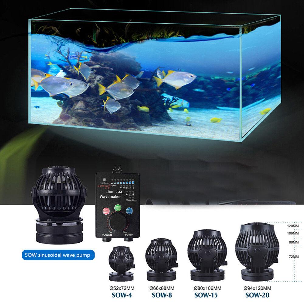 For JEBAO SOW 4 8 15 20 Sine Wave Pump w Night Sensor Durable Safe Ultra Silent