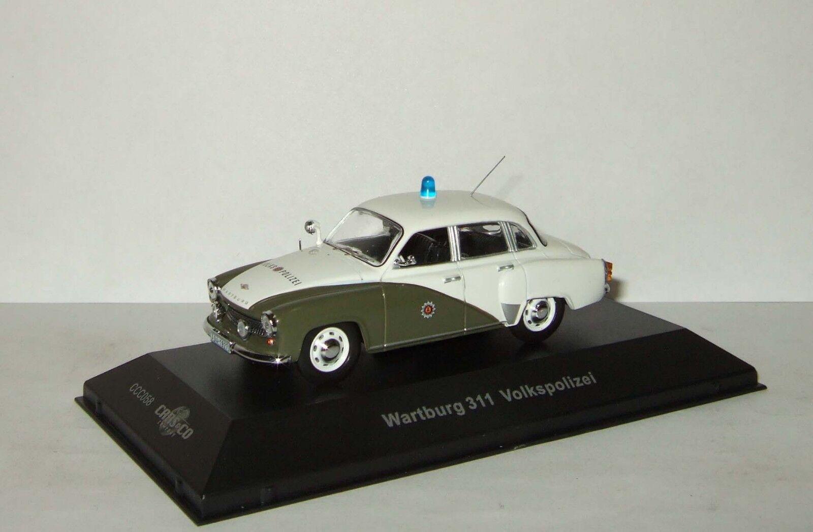 1 43 IST Cars & Co Wartburg 311 Volkspolizei limousine CCC058