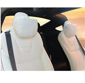 FOR TESLA MODEL S X 3 SEAT CUSHION PILLOW, COMFORT VIP ...
