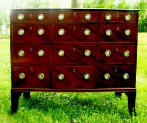 1775-Monumental-Hepplewhite-Gentleman-039-s-Chest-American-Antique-Federal-Furniture