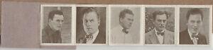 Thomas Meighan 1920s Galeria de las Estrellas del Cine -Mini Film Star Folder E1