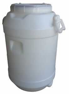 60 lt Litre Water Storage Container Plastic Fermenter Drum Barrel