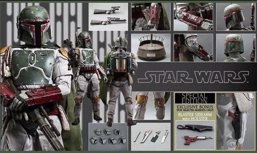 Hot Toys 1 4 Star Wars Episode VI 6 Return of the Jedi Boba Fett Special QS003