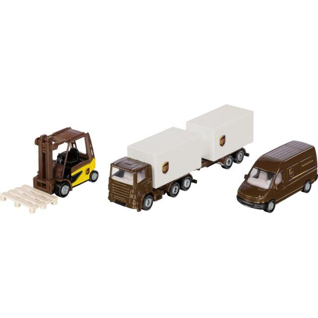 SIKU SIKU SUPER UPS Logistik Set, Modellfahrzeug, braun