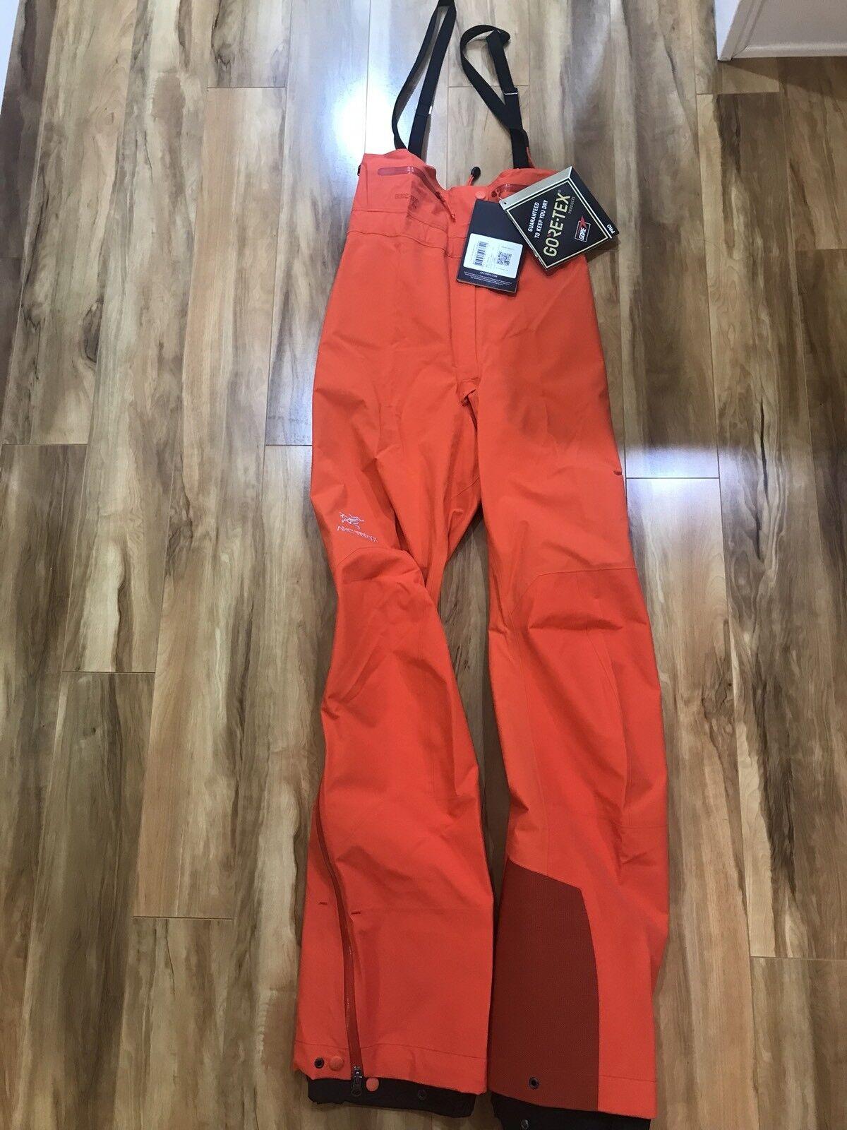 Womens Arcteryx Theta SV Bib orange Fiesta XS Tall Alpha SV Bib sold out