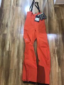 346797964a Womens Arcteryx Theta SV Bib Orange Fiesta XS Tall Alpha SV Bib sold ...