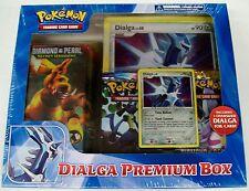 Pokemon Dialga Premium Box sealed includes Diamond & Pearl Packs & a deck NIB