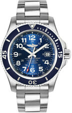 brand new 0857c e3bf0 Breitling Superocean II 36 A162A75OPR White Dial SS ...