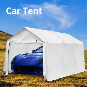 Heavy Duty Steel Carport Canopy Caravan Tent Portable ...