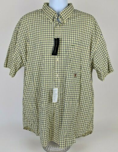 VTG Tommy Hilfiger Golf Yellow and Blue Plaid Butt