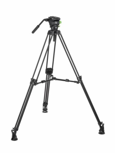 "GENESIS BASE Video KIT Tripod CVT-20 with Fluid Head VF-7.5  /""6 years warranty/"""