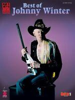 Best Of Johnny Winter Sheet Music Play It Like It Is 002500431