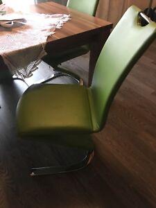 Details Zu 1 Esstisch Mit 4 Stühlen Gebraucht Tisch 90160 350 Ausziehbar