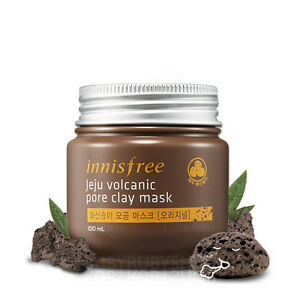 INNISFREE-Jeju-Volcanic-Pore-Clay-Mask-100ml-Original